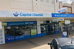 Our Canberra design studio recently installed signage at Capital Chemist Temora.