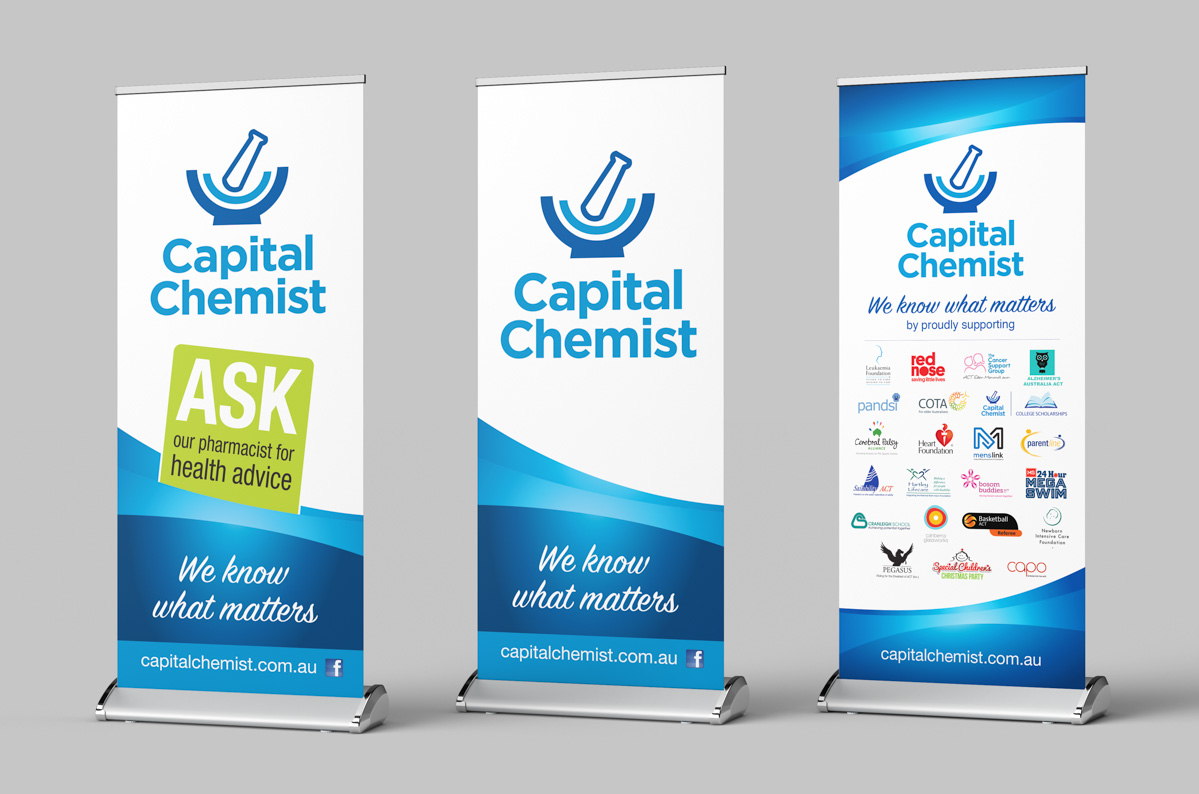 pull up banners design canberra