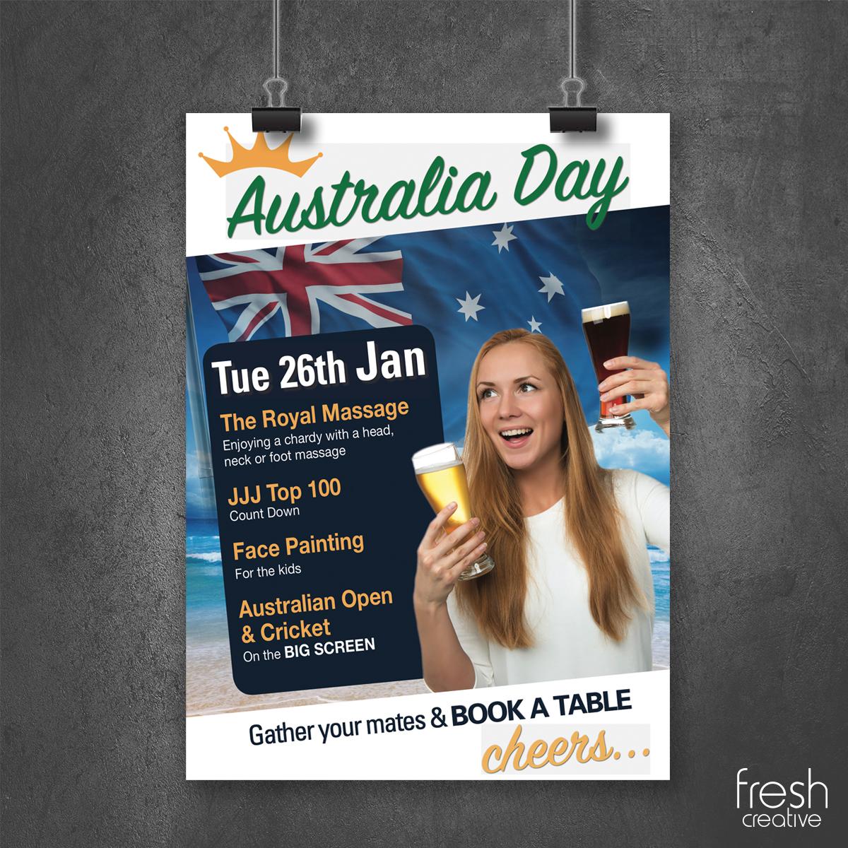 Australia Day Custom Poster