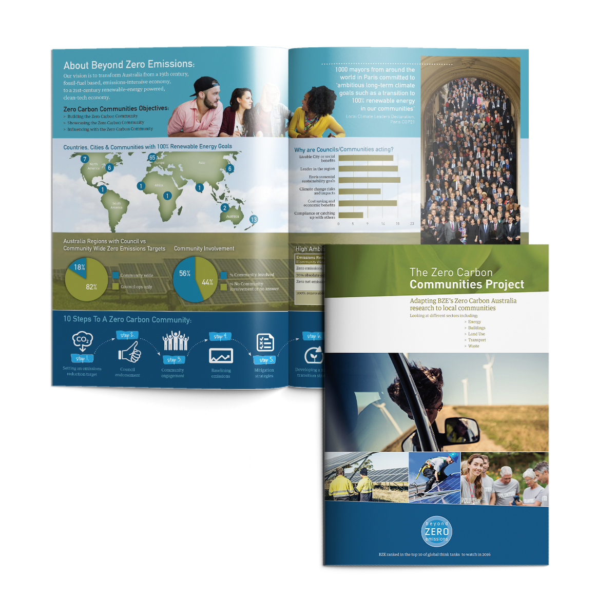 Zero Carbon Communities Project brochure