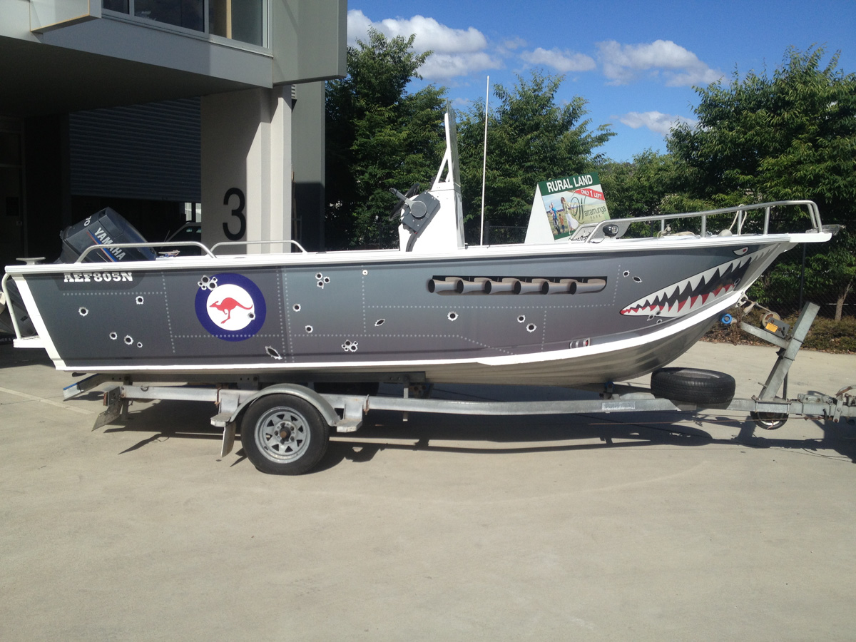 Boat Wraps Canberra
