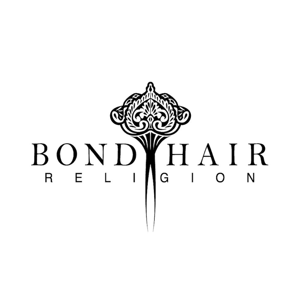 Bond Hair Religion Logo