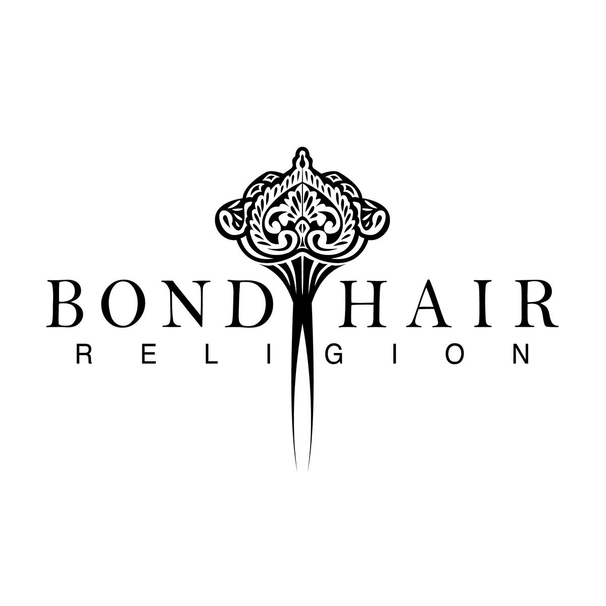Canberra Logo Design - Bond Hair Religion