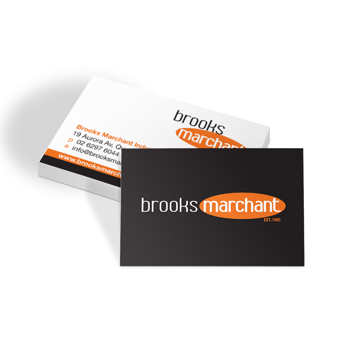 Brooks Marchant Business Cards