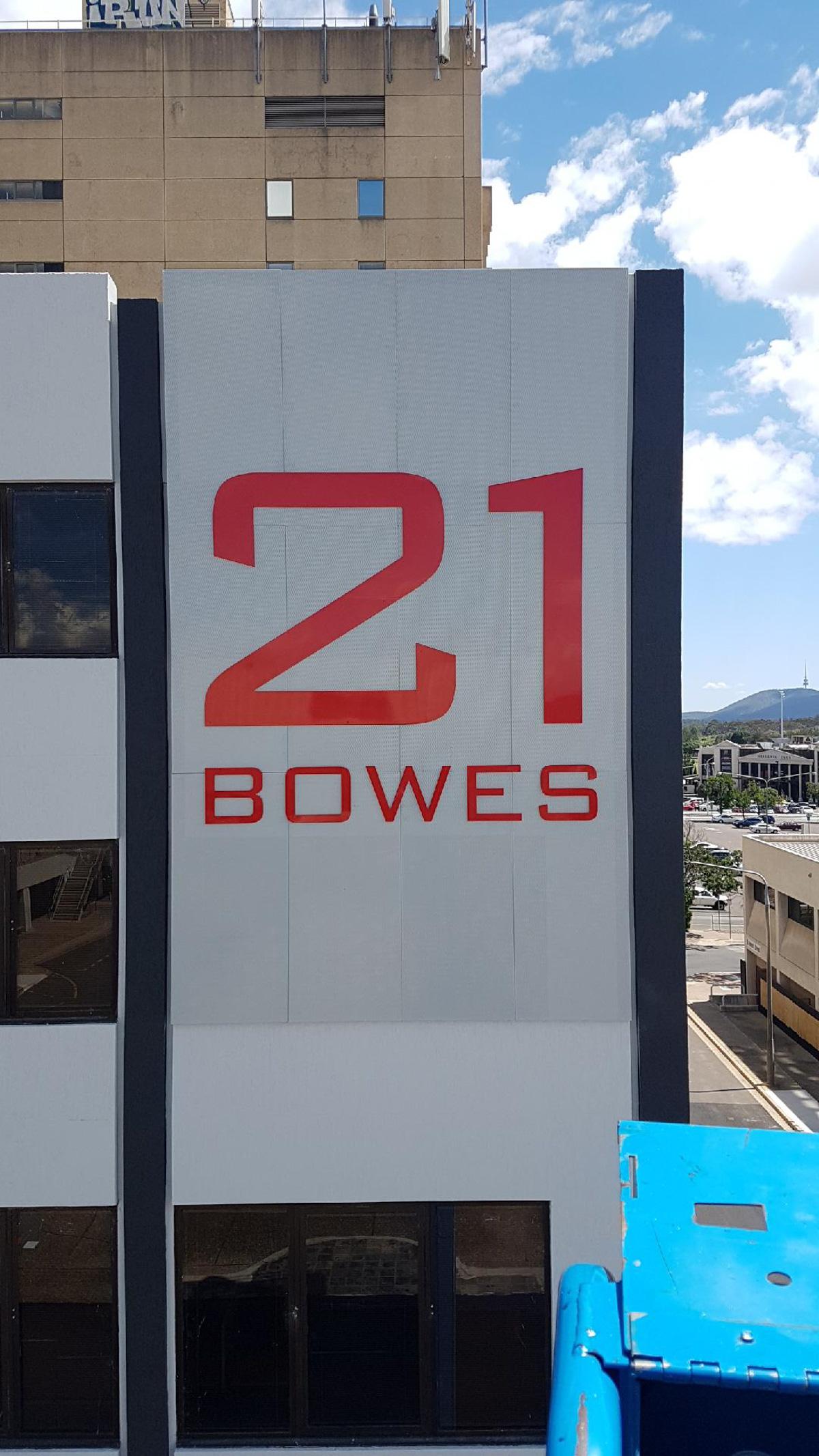 Commercial Building Signage Canberra