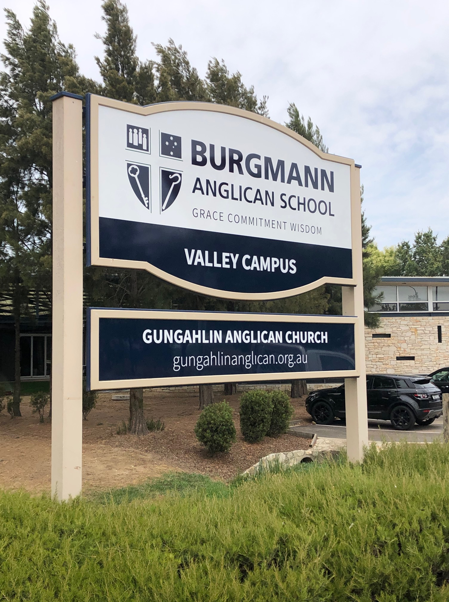 Burgmann Anglican School Signage