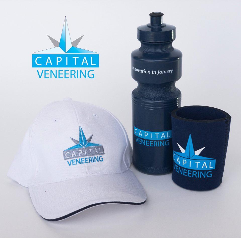 Capital Veneering Promotional Items