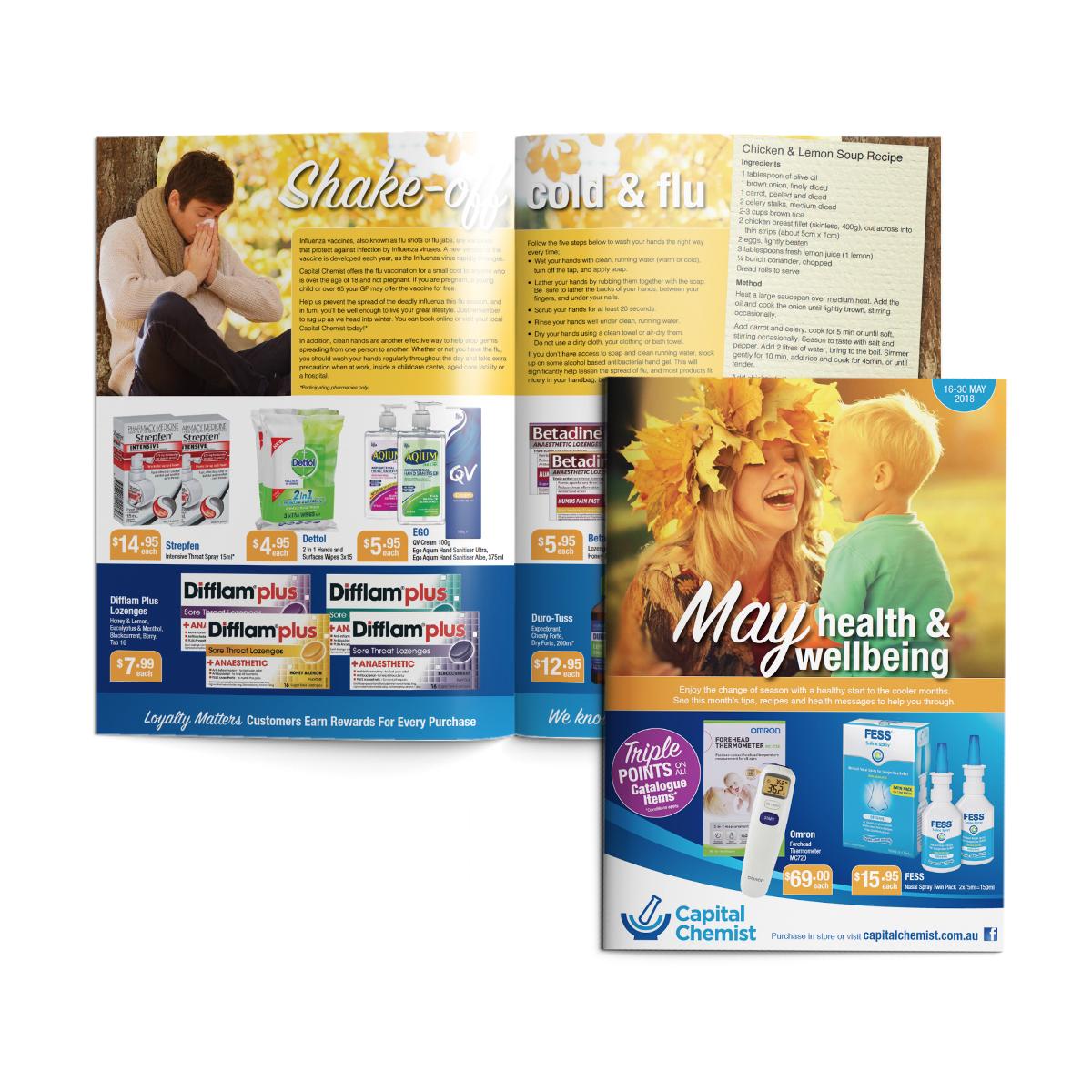 Capital Chemist Catalogue