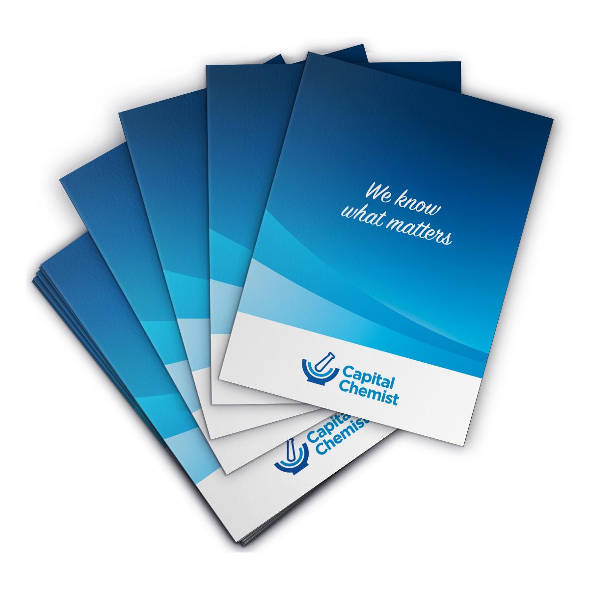 Capital Chemist Presentation Folders