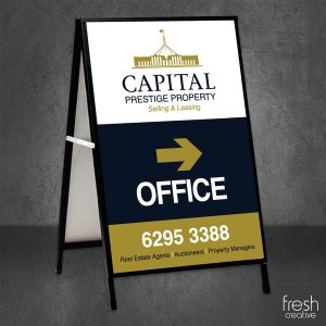 The Royal Hotel A-Frame Signage Canberra