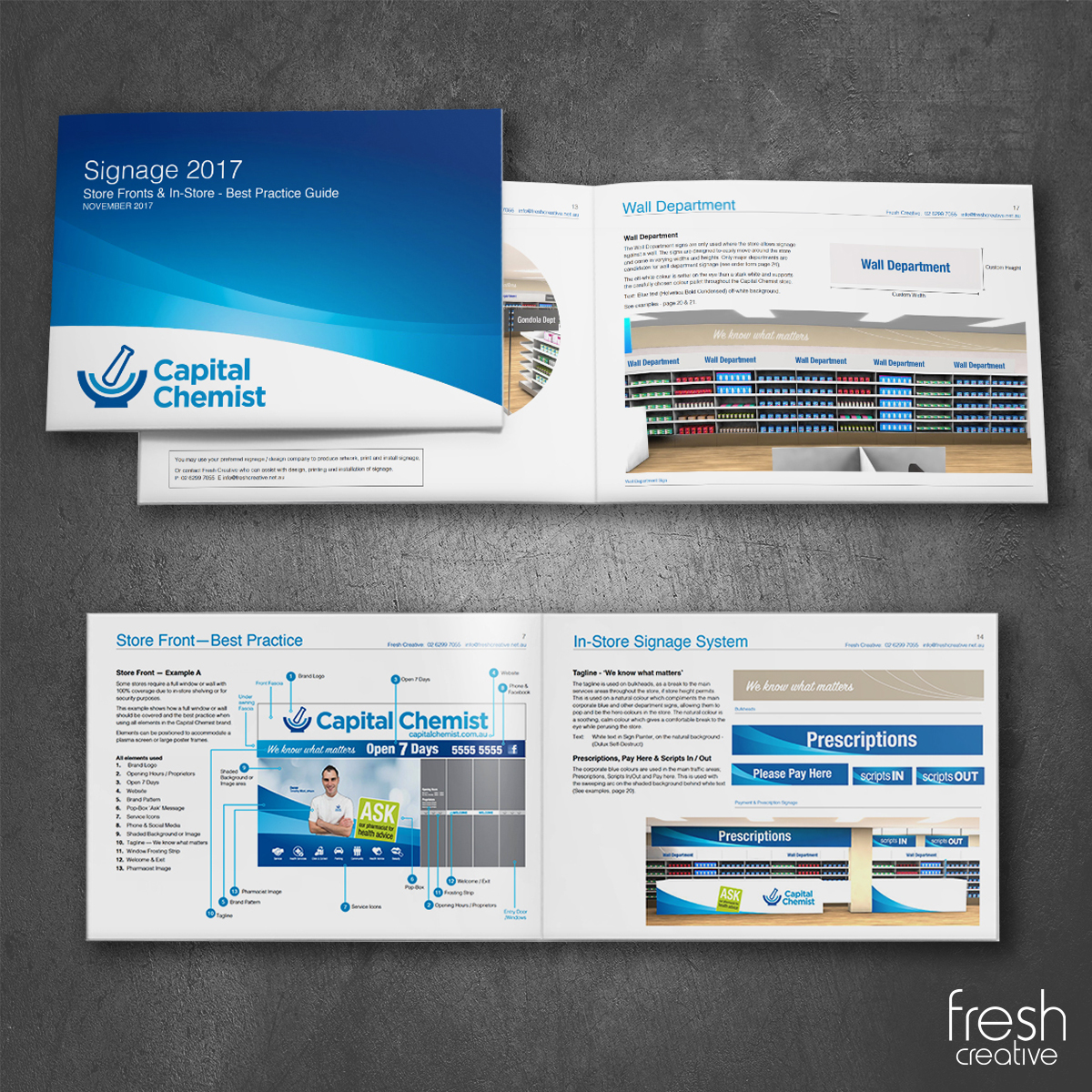 Capital Chemist Custom Guide
