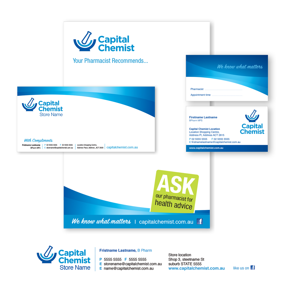corporate brand stationery design canberra