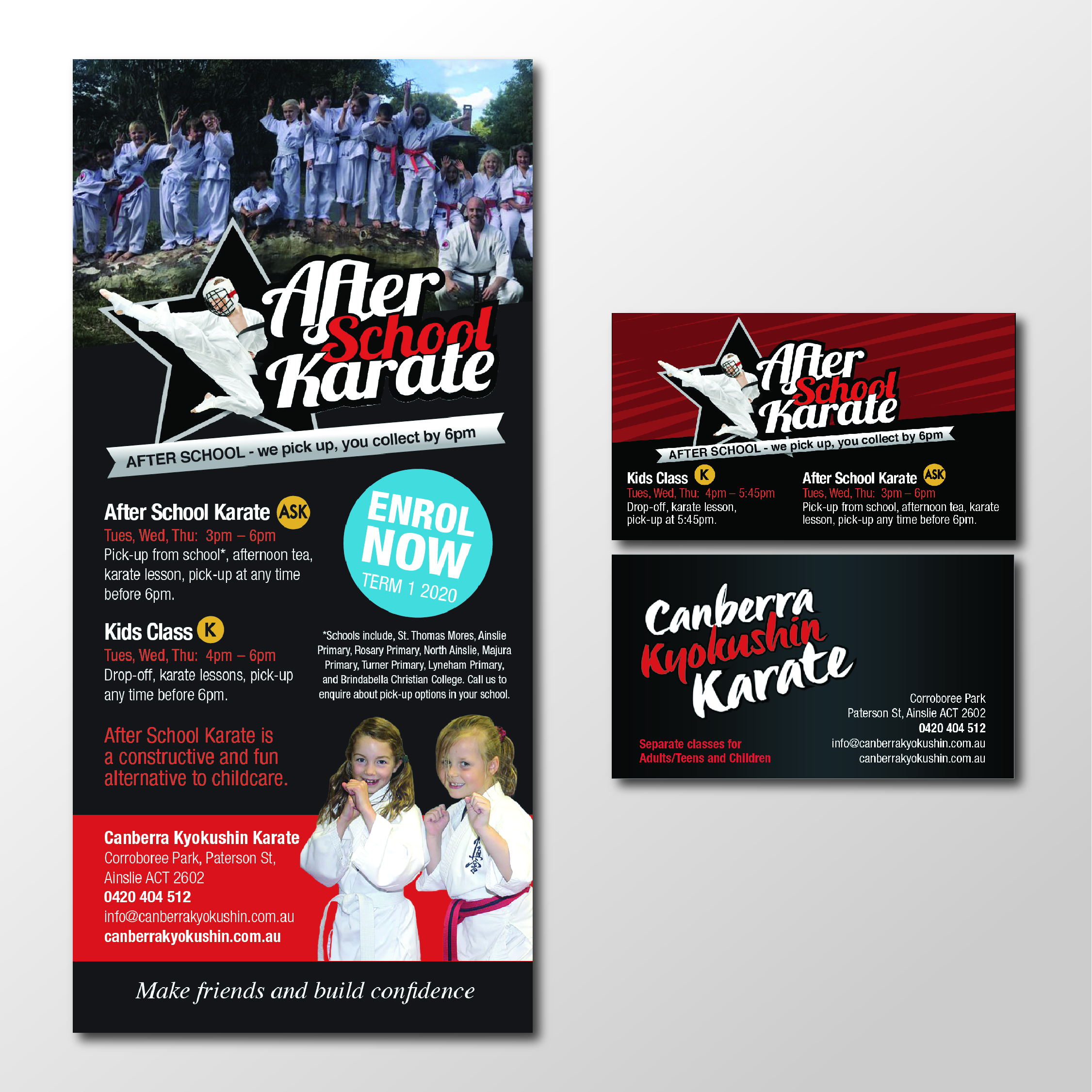 business card design in Canberra