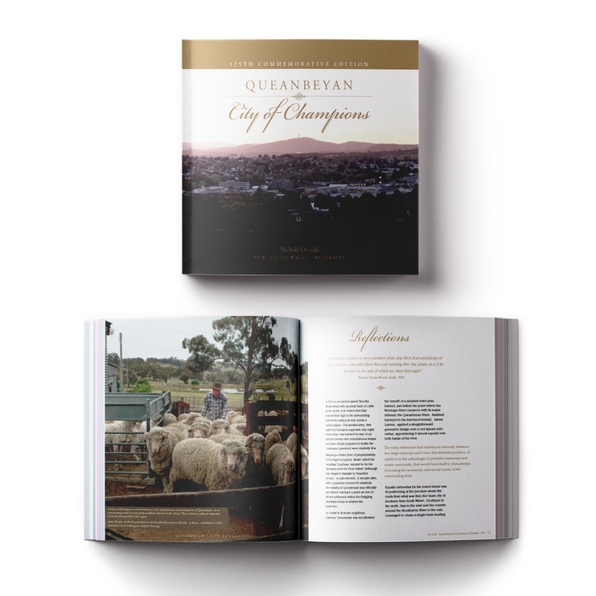layout book design canberra
