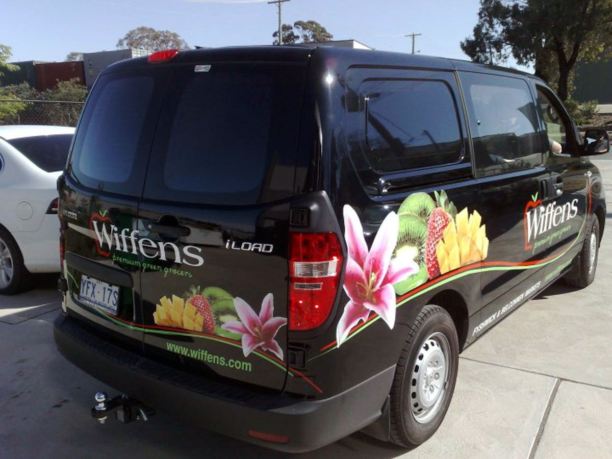 Custom Design van wraps