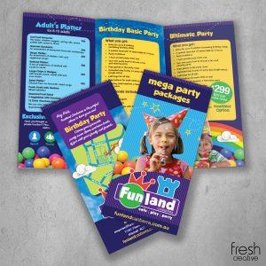 Custom Funland Brochure