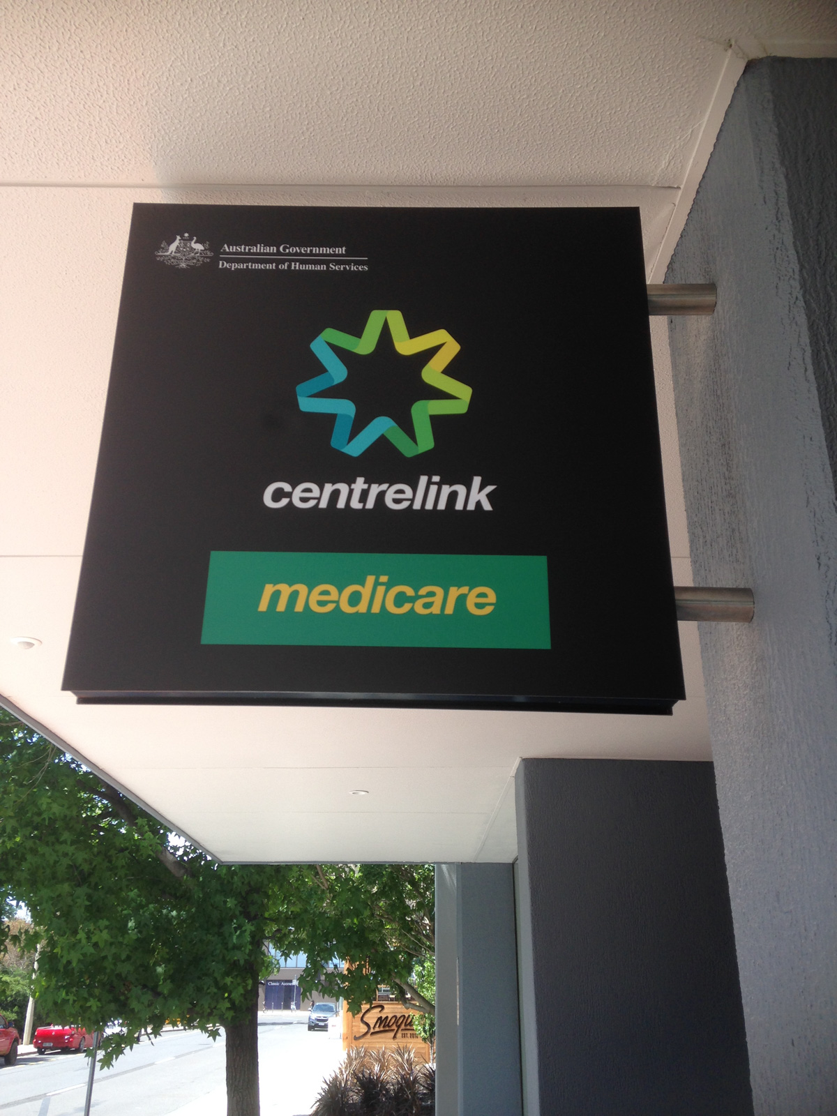 Signage box canberra vinyl decal canberra