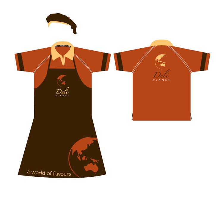 Deli Planet Corporate Uniform
