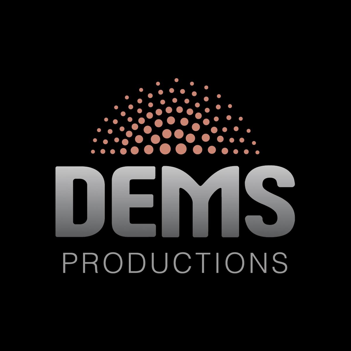Dems Production Canberra Logo Design