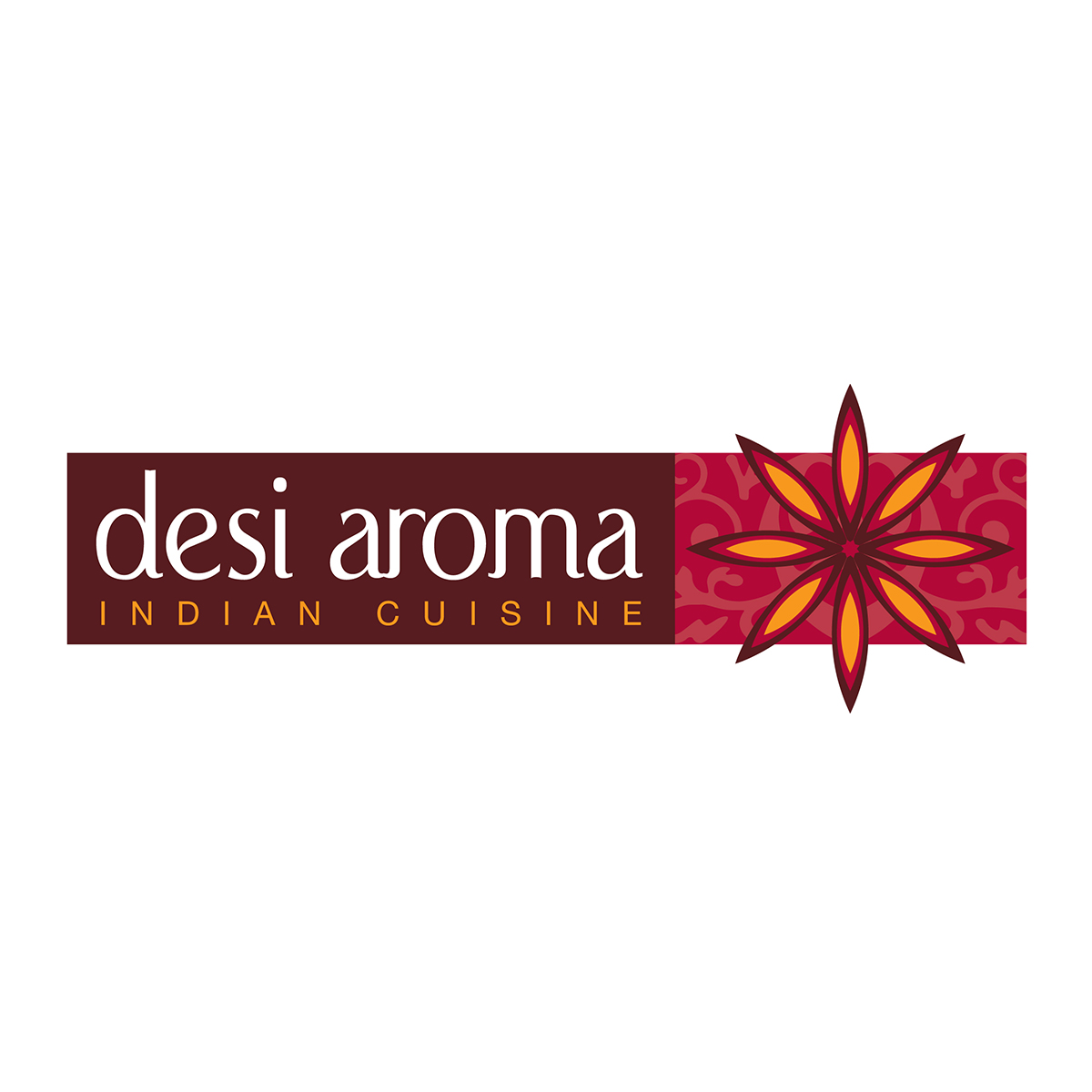 Desi Aroma logo from Canberra logo designer Fresh Creative