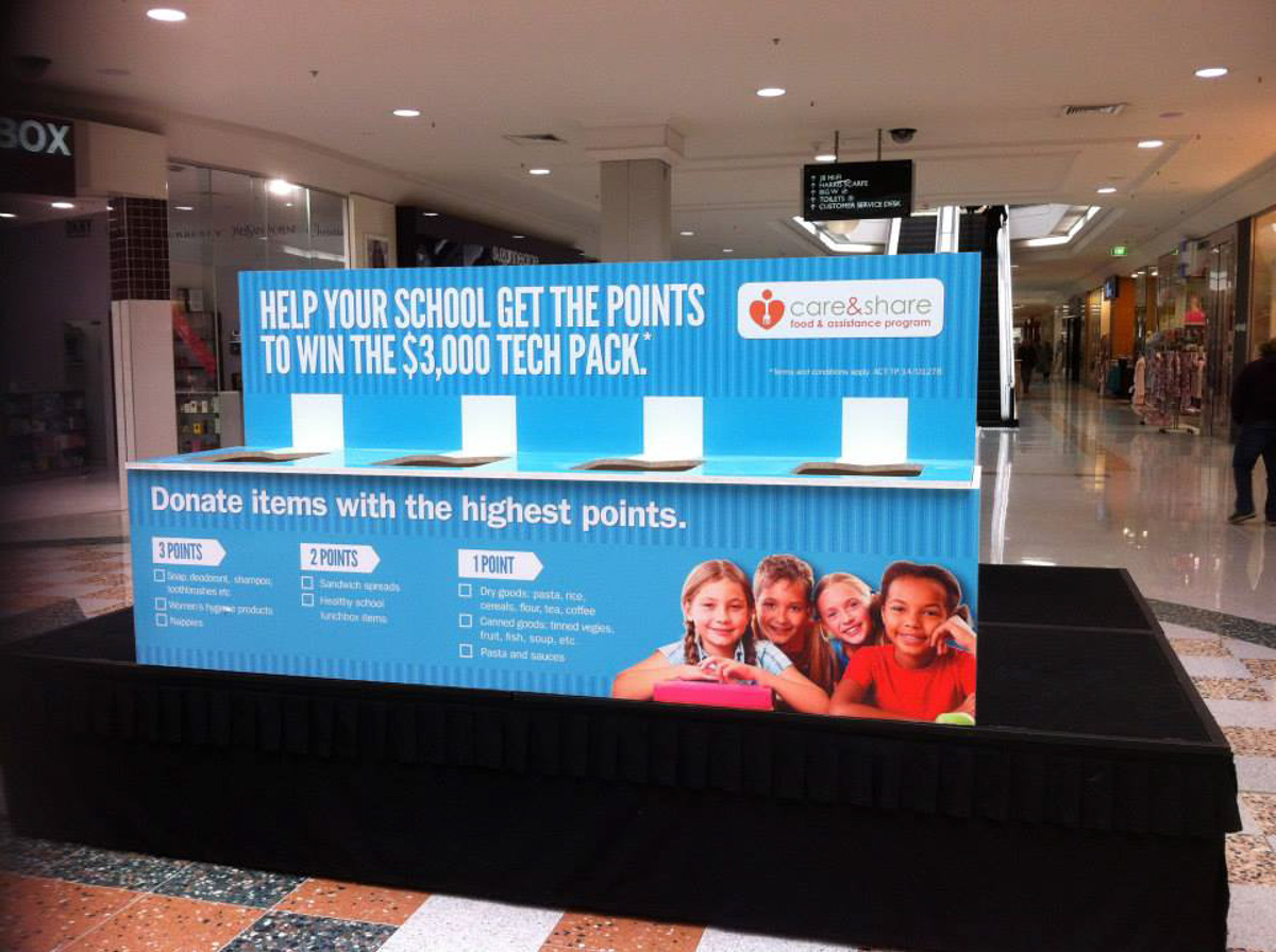 Canberra Custom Promotional displays