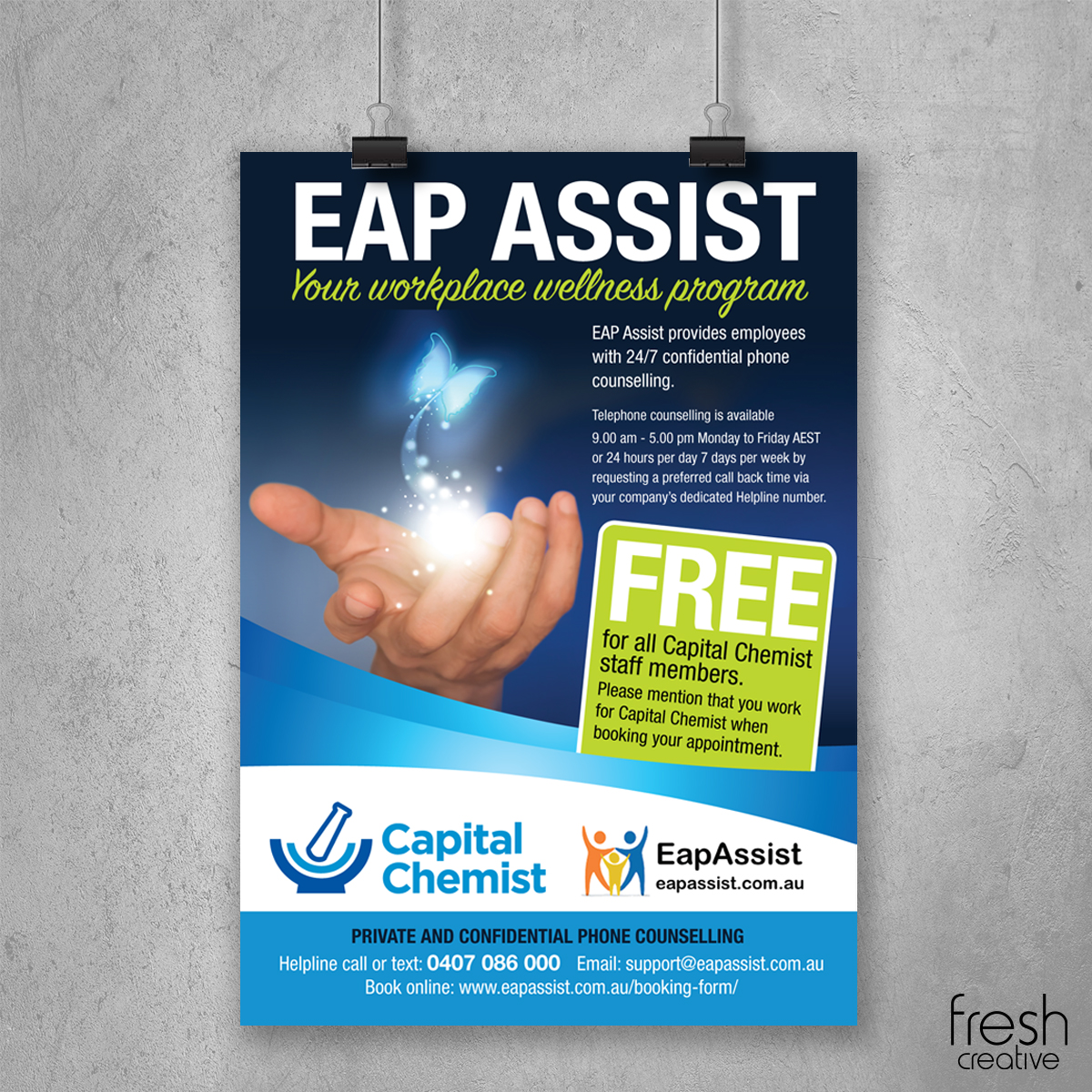 Capital Chemist EAP Assist Poster