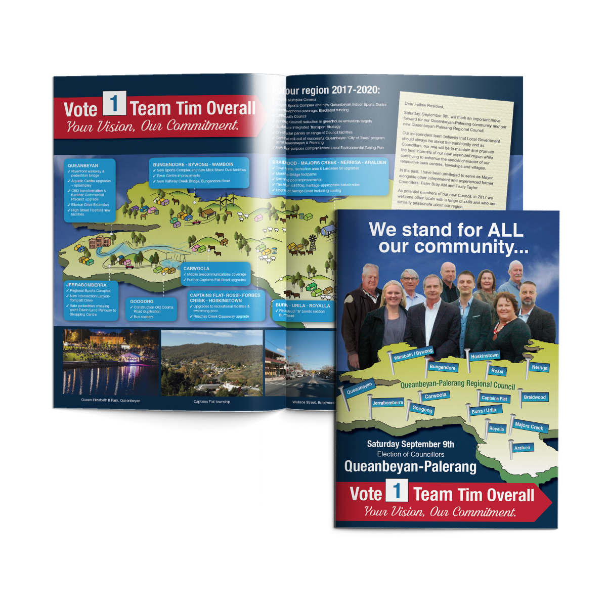 A3 Election Campaign Brochure