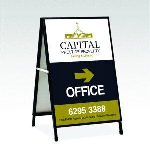 Capital Prestige Property Office Signage 2020