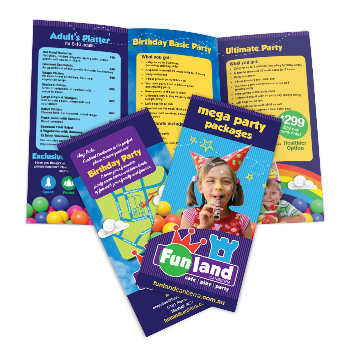 Funland Advertising Flyer