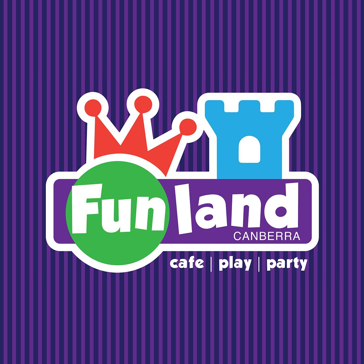 Funland Canberra Logo Design