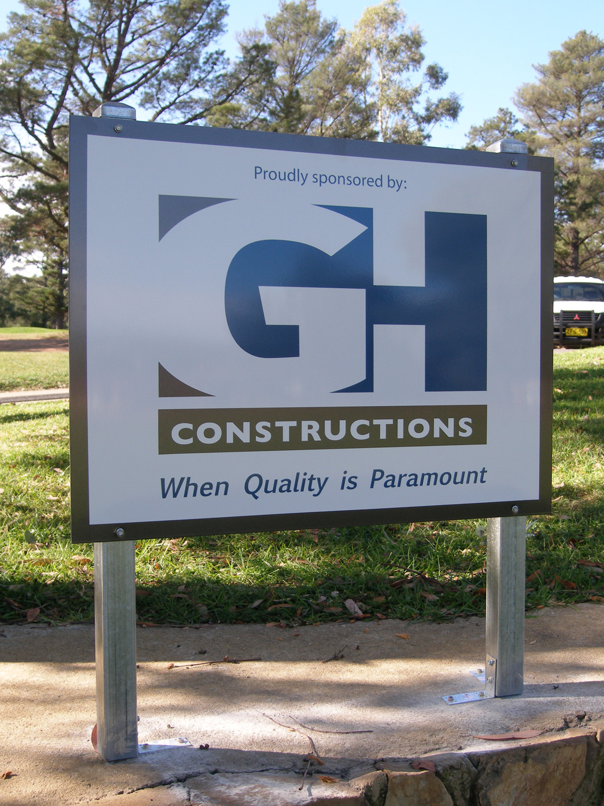 GH Constructions Building Signs