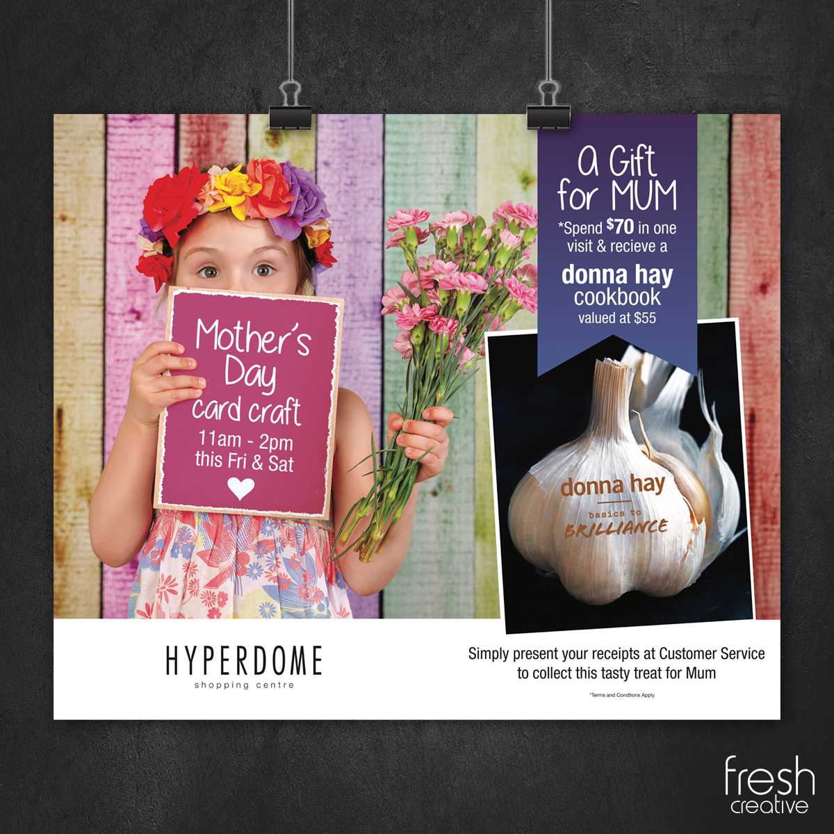 Hyperdome Mothers' Day Custom Poster