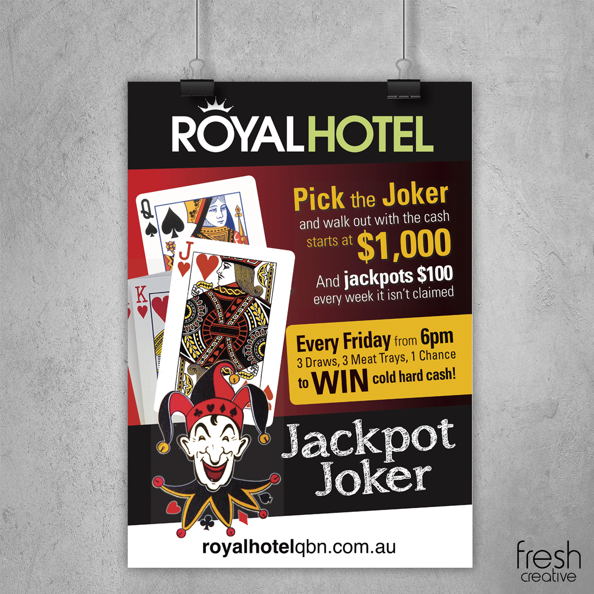 The Royal Hotel Joker Poster
