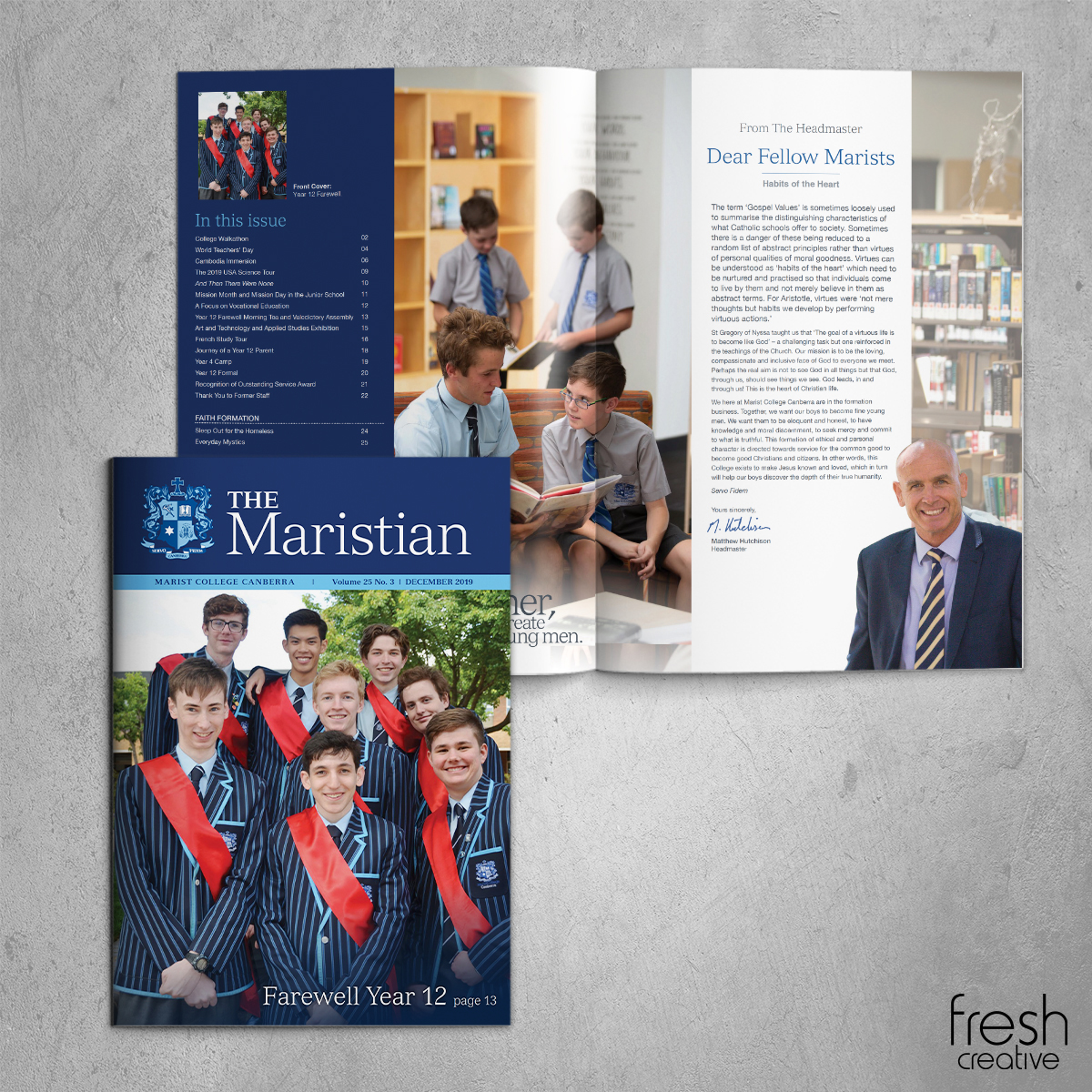 Marist College Canberra The Maristian