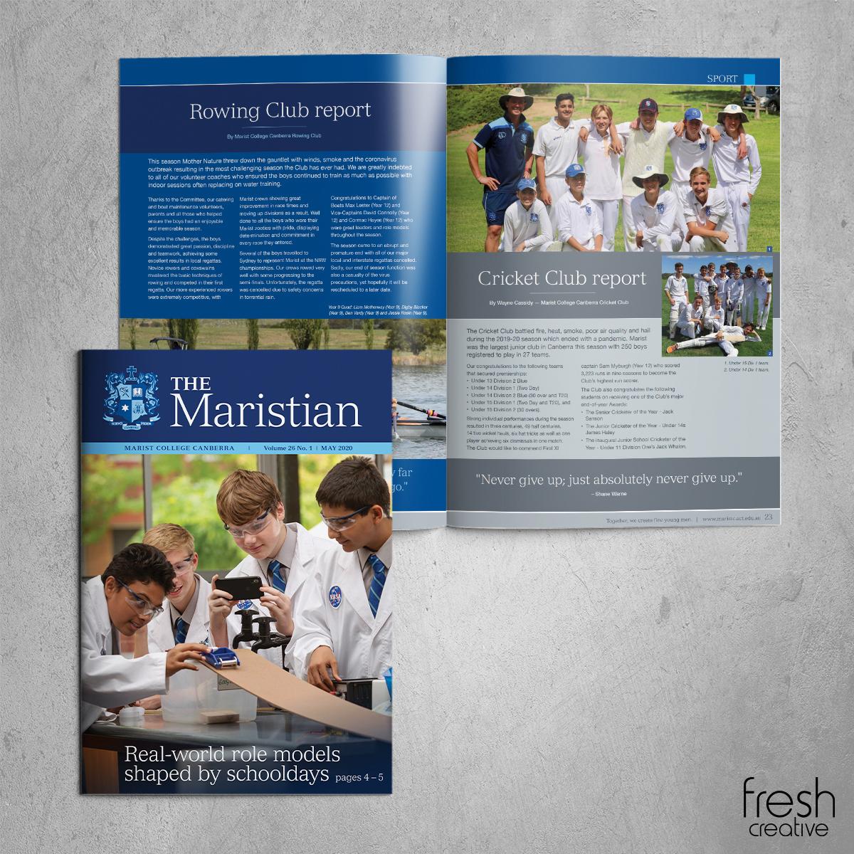 Marist Maristian May Publication