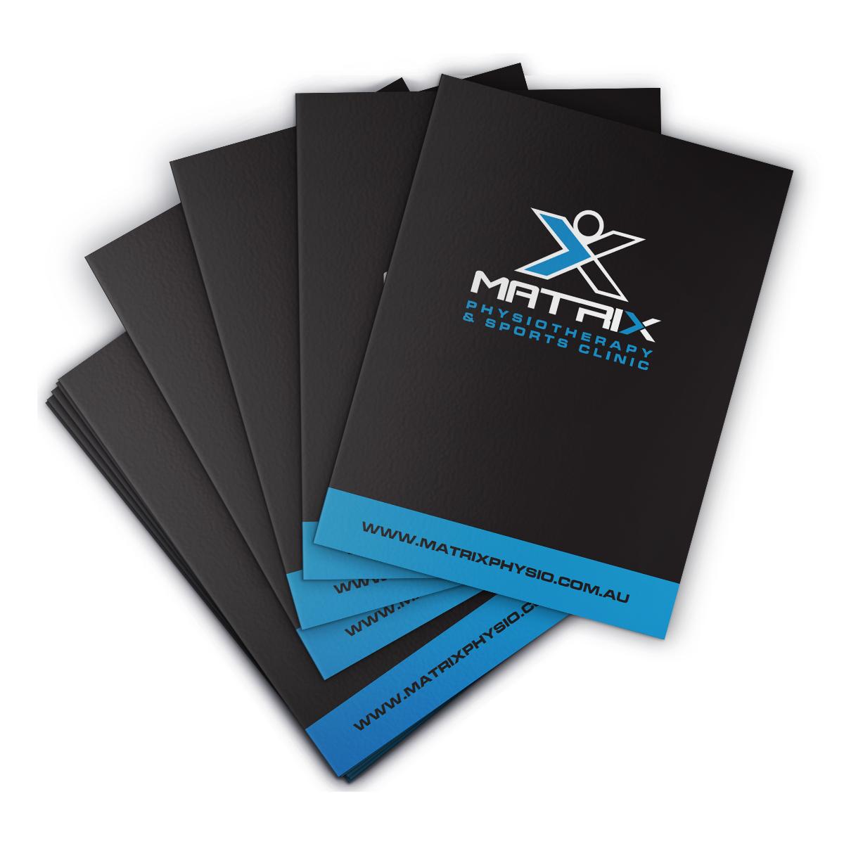 Matrix Presentation Folders