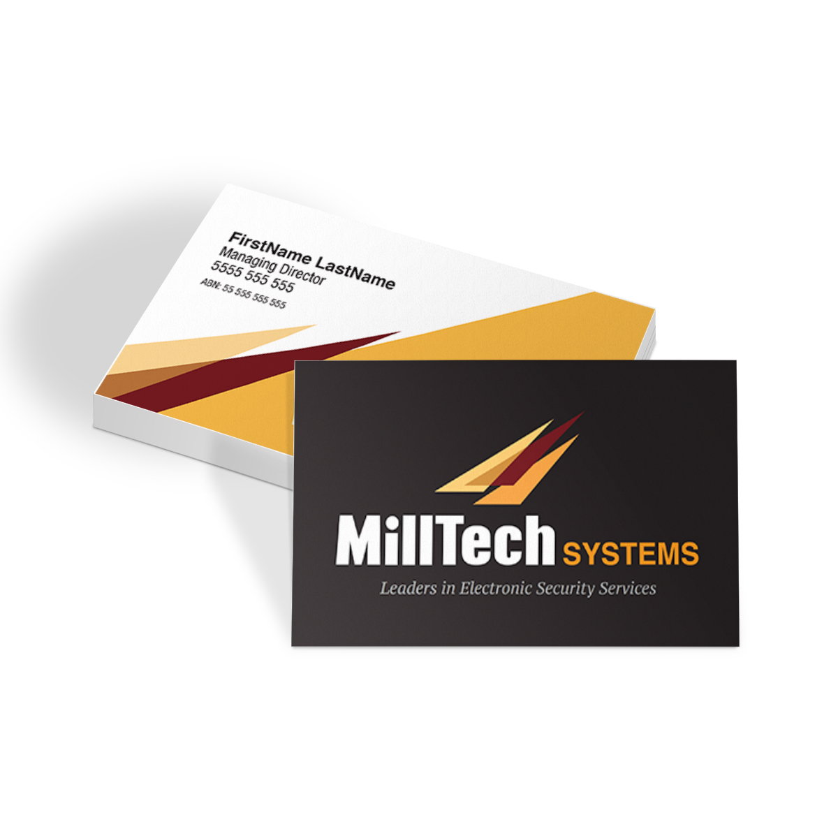 MillTech Systems Business Cards