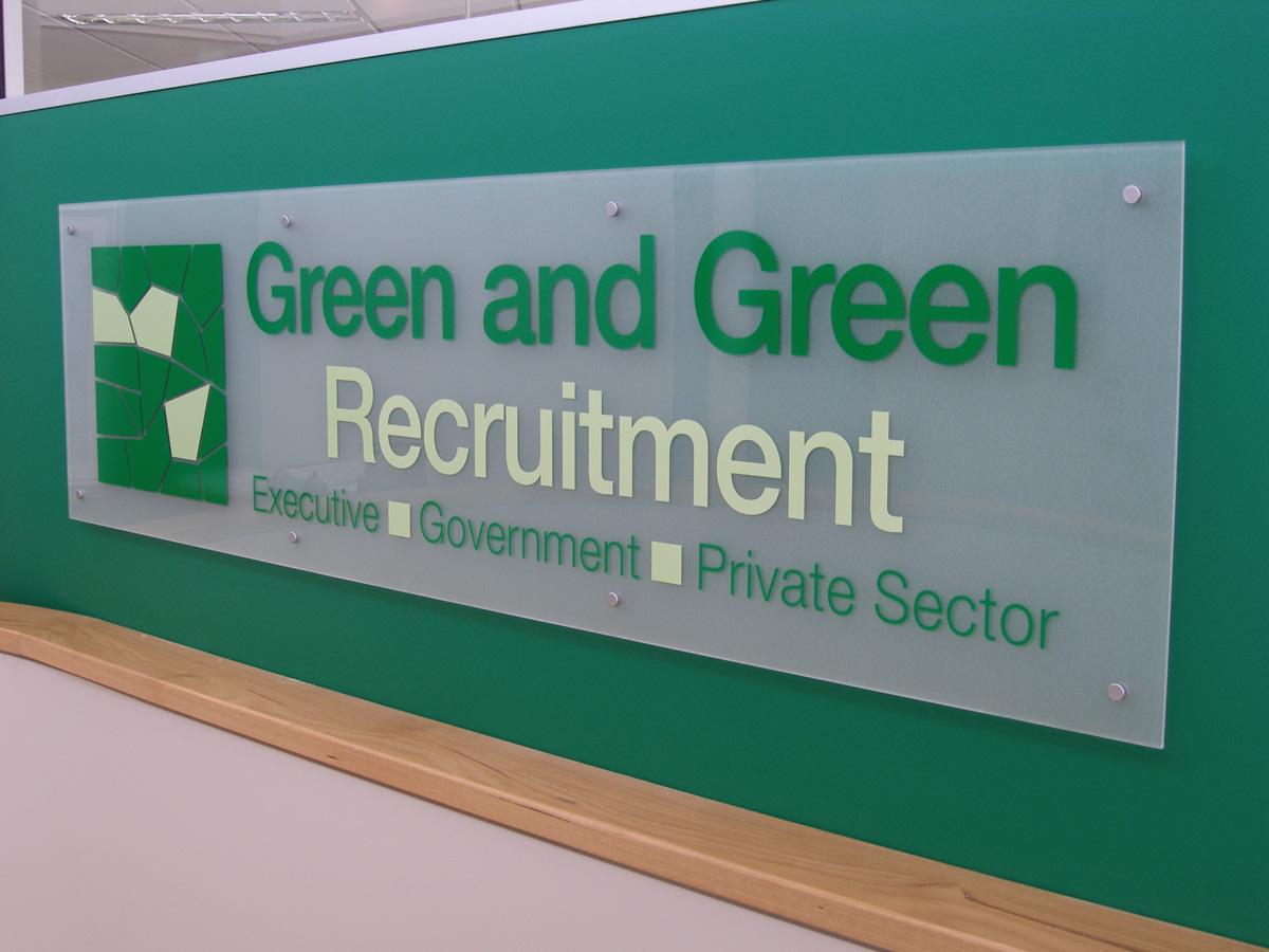 Custom Reception Signage Canberra