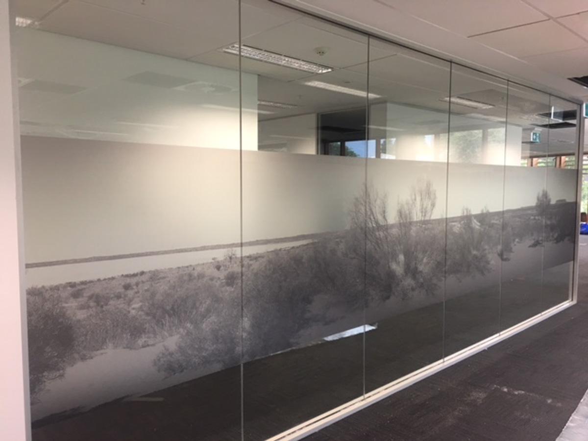 Digital frosting covering