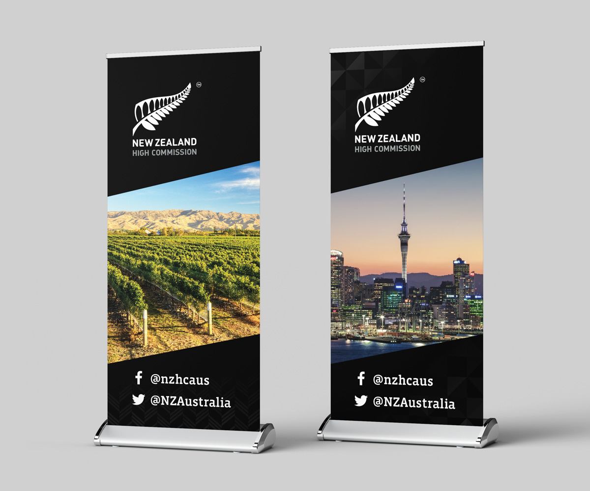 canberra branding pull up banners