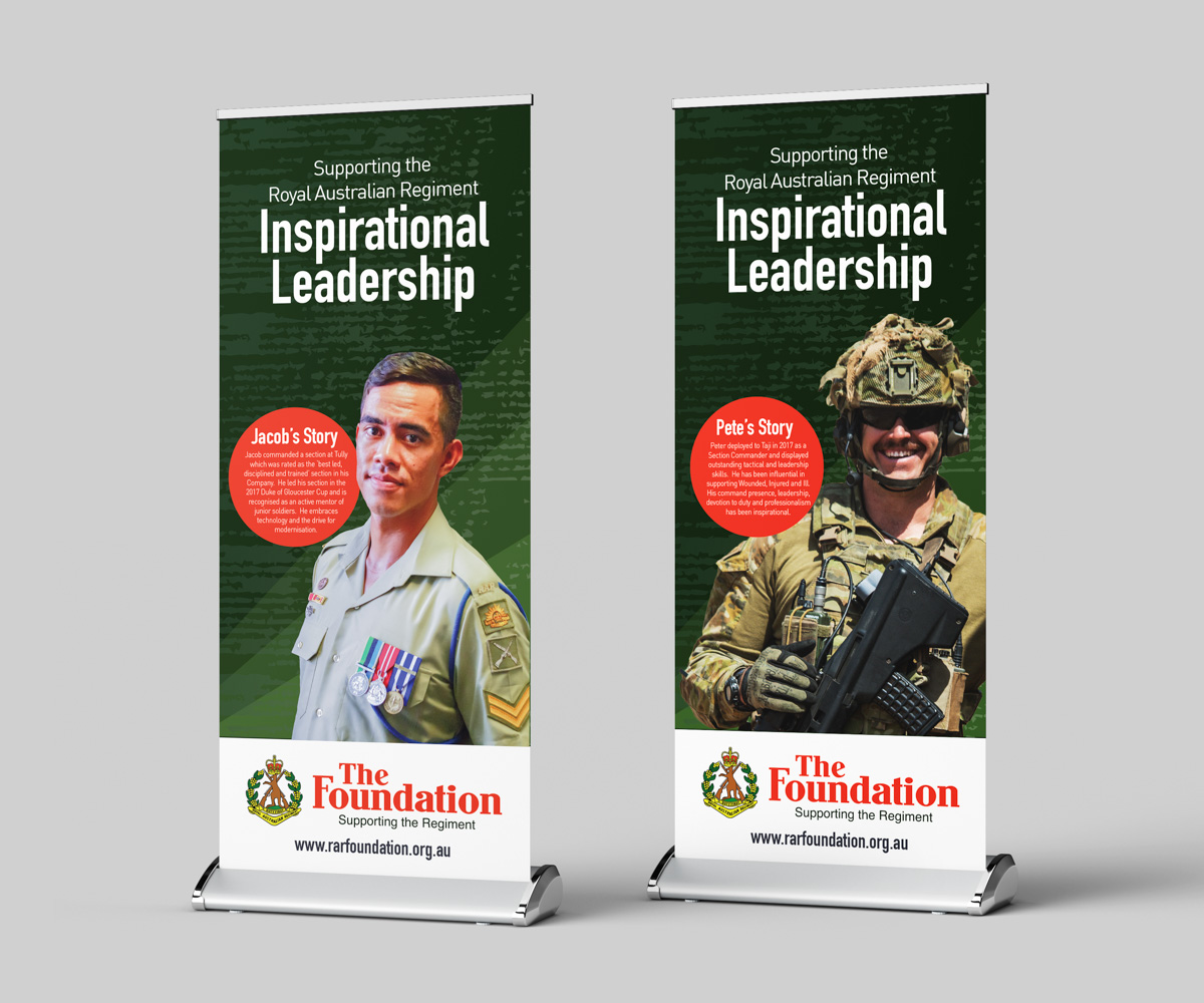 RAR Foundation Pull-Up Banner