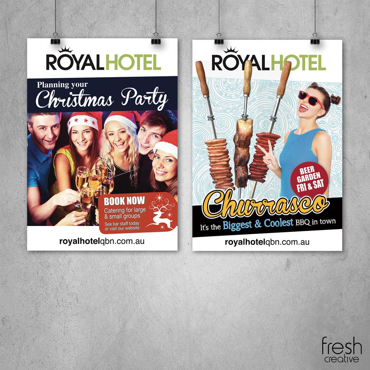 Royal Hotel Queanbeyan Posters