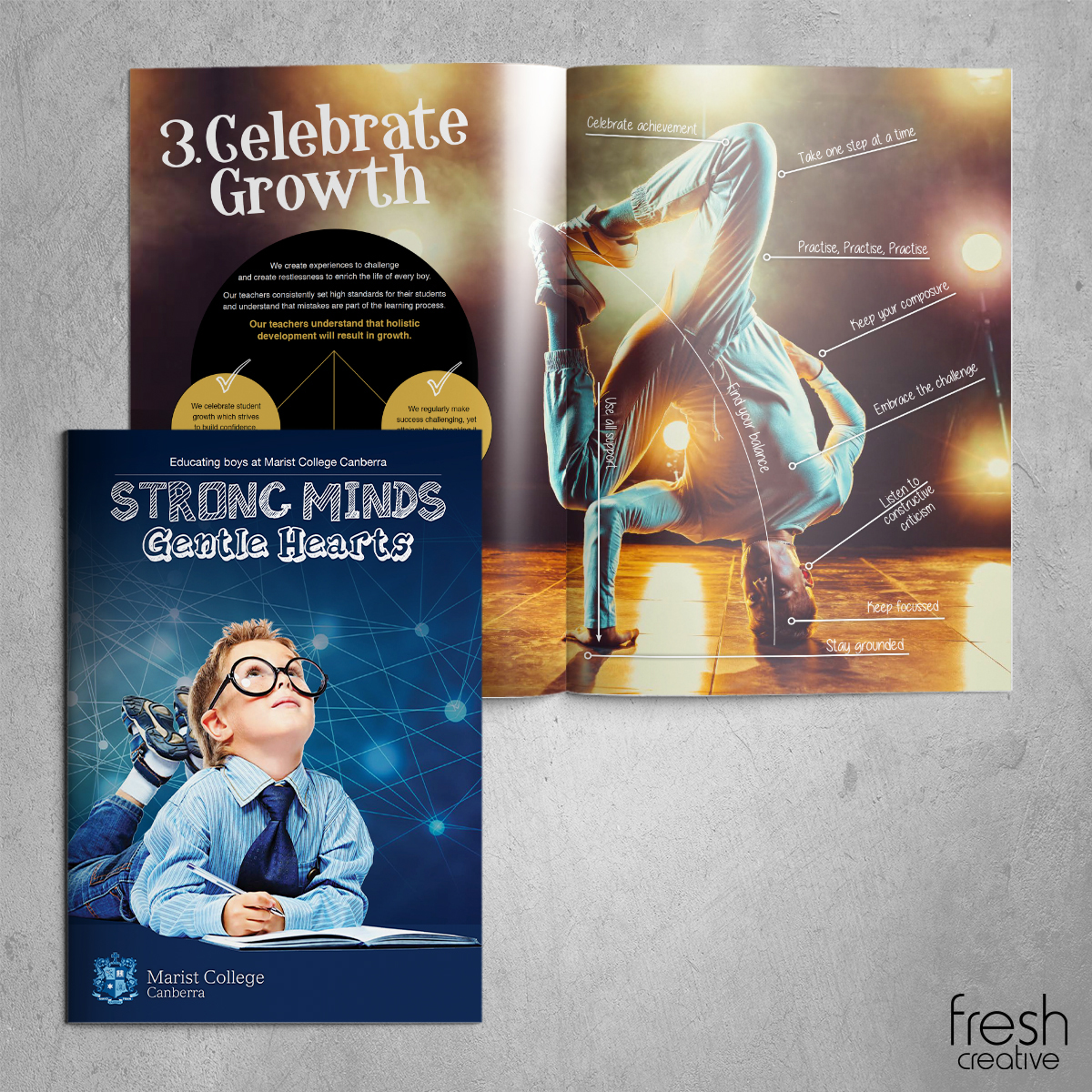 Marist College Canberra Strong Minds Gentle Hearts Publication
