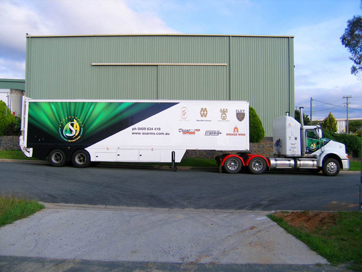 Custom Printed Truck signage Canberra