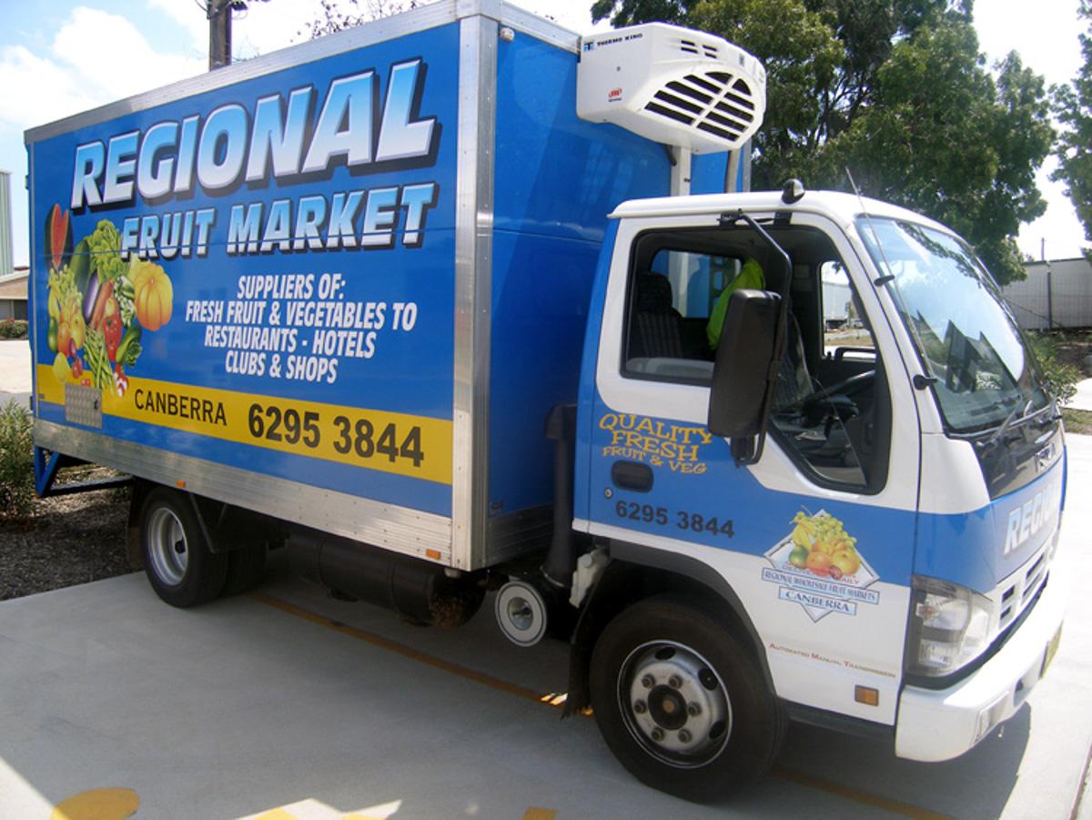 Truck Signage Canberra