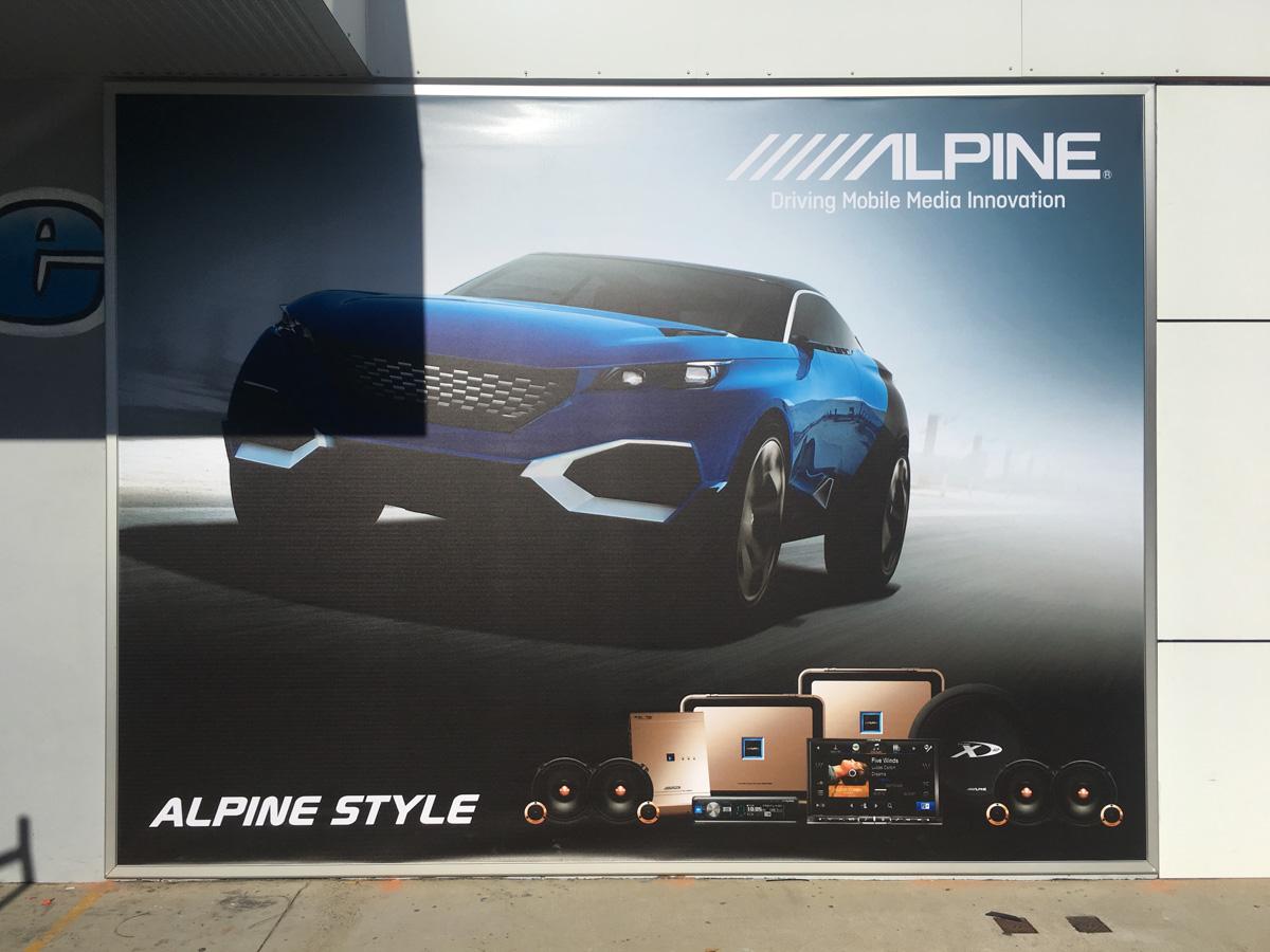 Alpine Banner Display Canberra