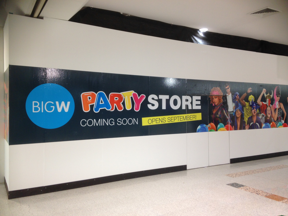 Big W Wall Covering Canberra