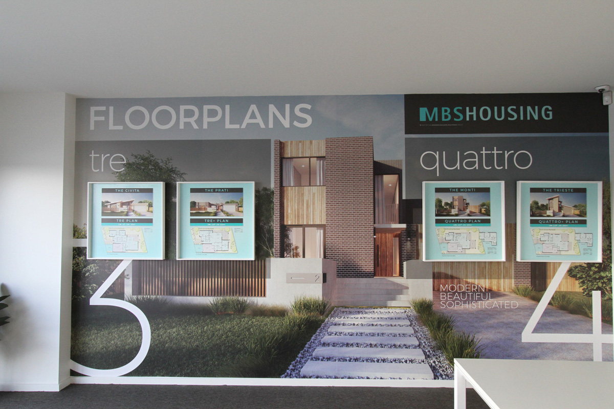 Large format printed Displays Canberra