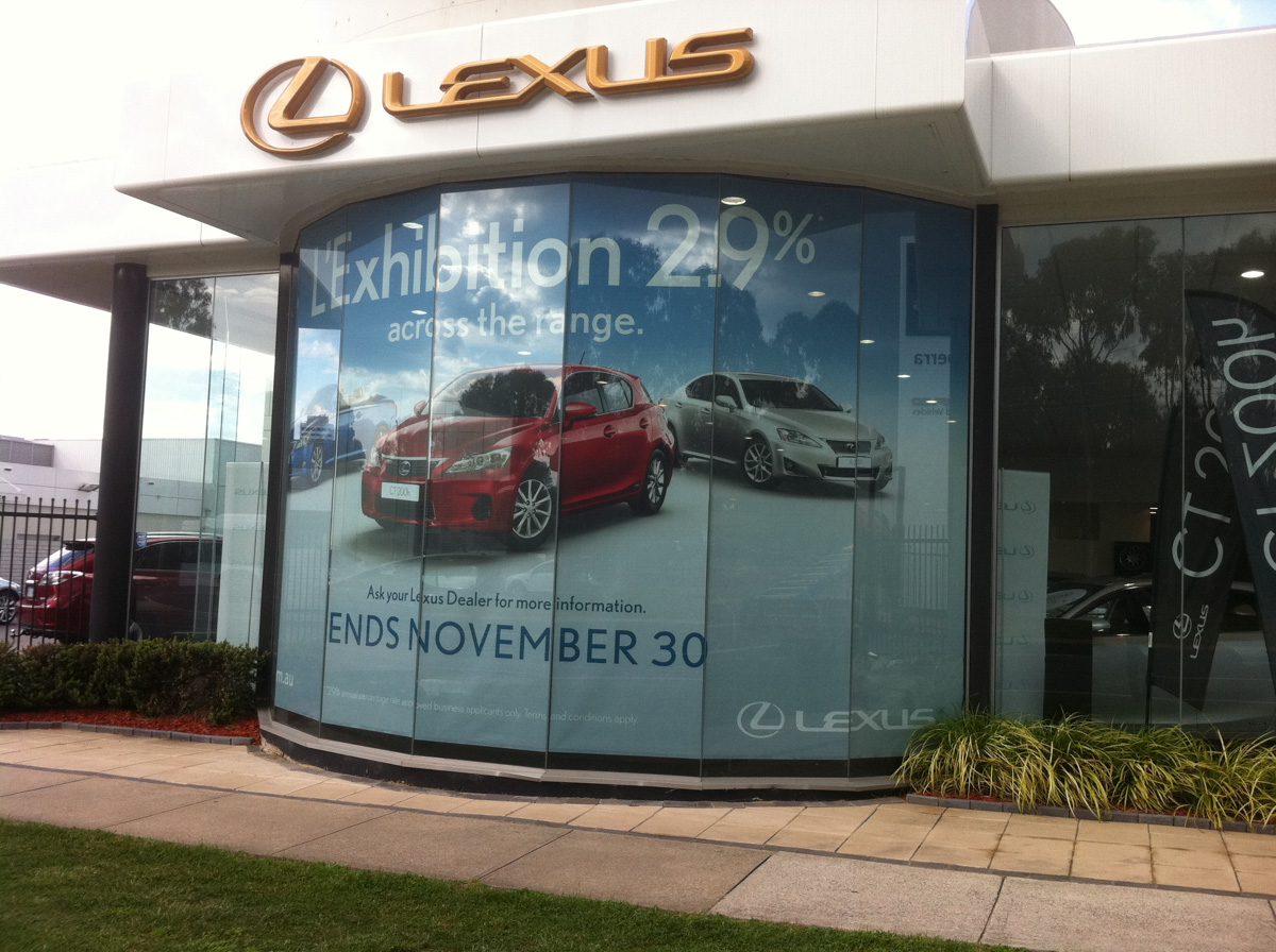 Large window wrap Canberra