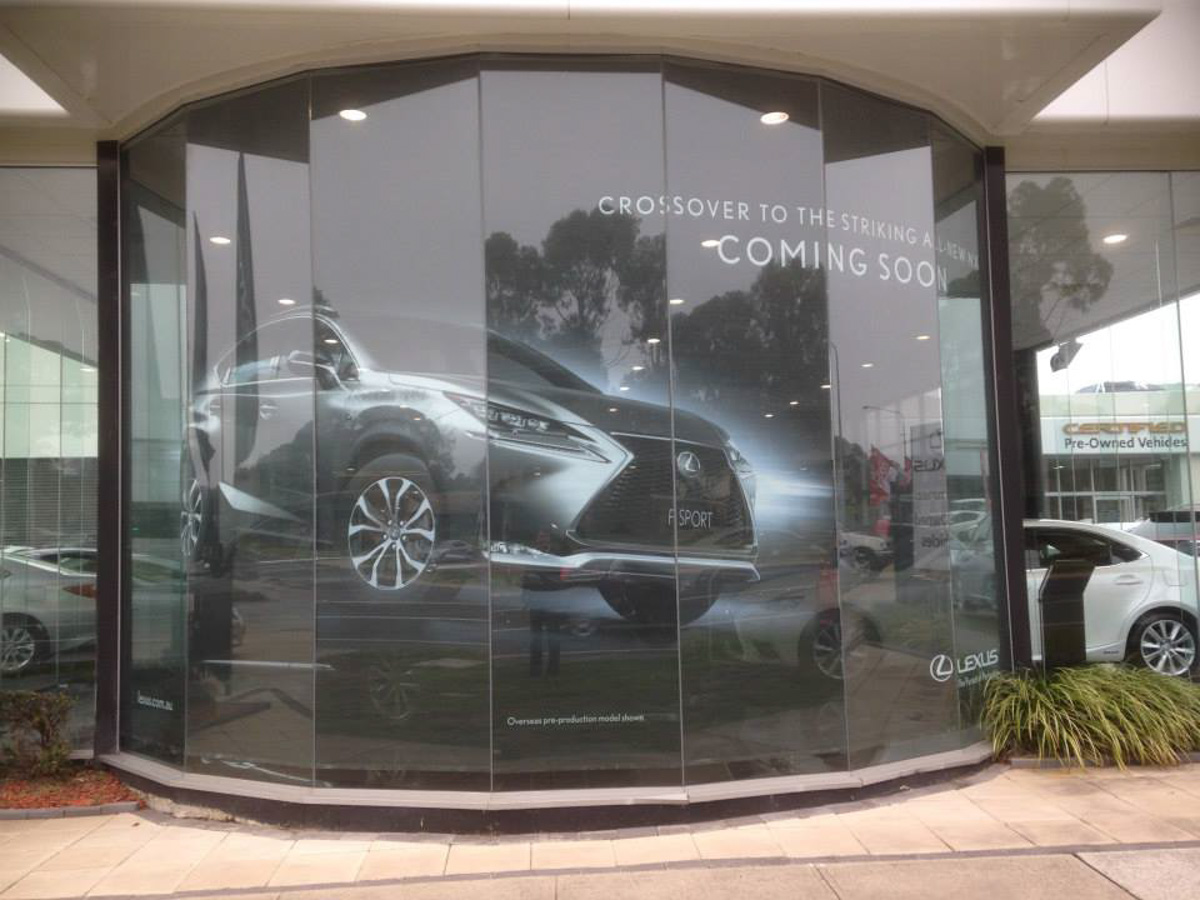 Lexus Window Film Canberra
